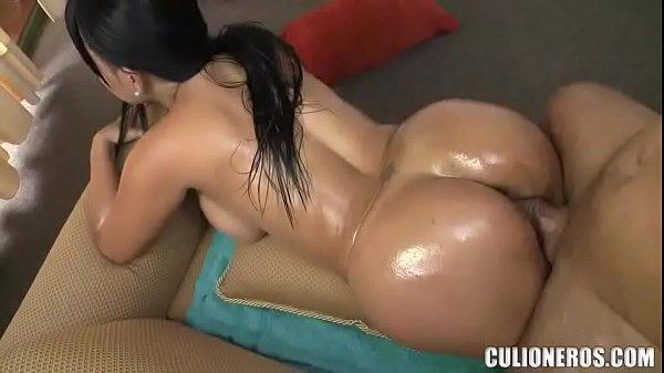 Une colombienne à gros cul
